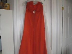 Robe dame d'honneur
