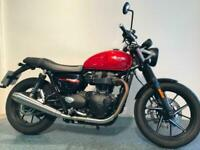 2020 TRIUMPH STREET TWIN ONLY 1377 MILES