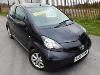 2007 TOYOTA AYGO 1.0 VVT-i AYGO Black - MOT MARCH 2019, 90K MILES, £20 ROAD TAX!