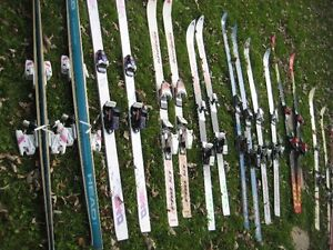 downhill skis / boots / poles