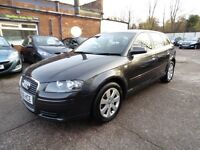 Audi A3 2.0 TDI SE SPORTBACK (1 OWNER + FULL SERVICE HISTORY + NEW CLUTCH & FLYWHEEL) (grey) 2006