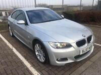 2007 57 Silver BMW 320D M Sport Coupe 177 BHP