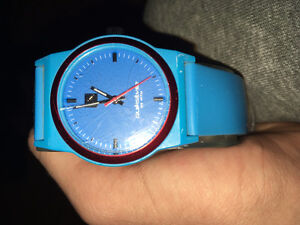 Quicksilver blue watch