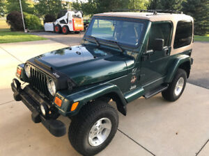 2000 Jeep TJ Sahara 4.0L 5speed
