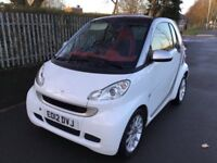 Smart ForTwo coupe passion 71bhp Good / Bad Credit Car Finance (white) 2012