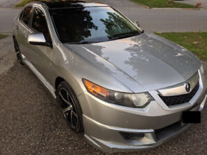 2010 Acura TSX Silver 6 Speed Sport 2.4L 4Cyc - Safety Included!