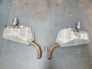Exhaust Mufflers(price for 2, halfprice for 1)(price negotiable)