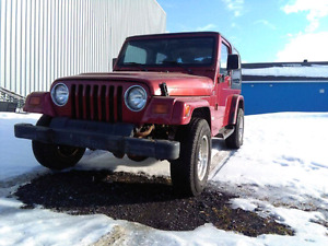 Project JEEP TJ WRANGLER 2200$ NEGO