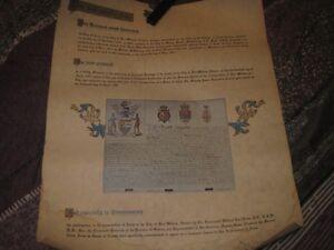 2 vintage documents