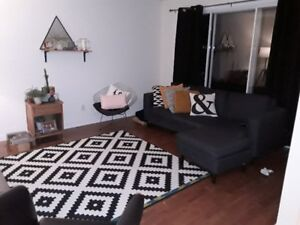 Renovated 4 1/2 with hardwood floors throughout