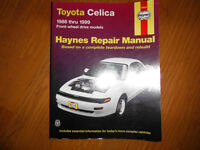 1986-1999 Toyota Celica FWD Service Manual- GTS, GT, ST