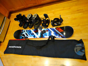 Sims 151cm Board , Sims Binding , Boots and Board Bag