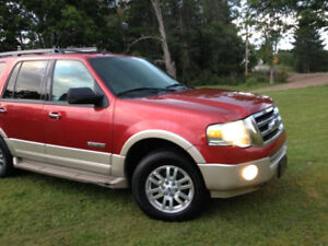 Ford 4X4 Expedition SUV Truck