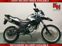 BMW G650 GS SERTAO 2014 WHITE and BLUE ABS BREMBO BRAKES LOW MILEAGE