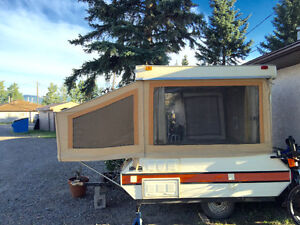 BONAIR 1976 Modified Tent Trailer with NO LEAKS. HINTON, AB