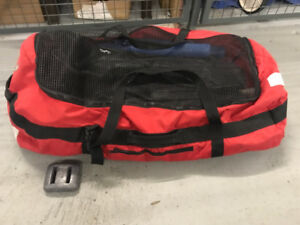 Scuba bags: gear bag, regulator bag, drysuit bag