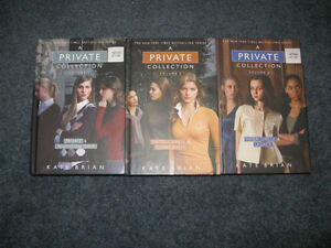 Kate brian A private collection vol 1 2 and 3