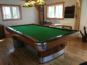 Pool Table 1945 Brunswick Anniversary