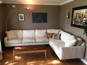 Beautiful Robin Bruce Oslo Contemporary Sectional! Can deliver!