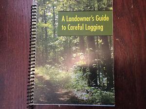 WOOD HANDBOOK, CANOE PADDLES & LANDOWNER'S LOGGING BOOKS