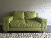 Beautiful contemporary leather sofa