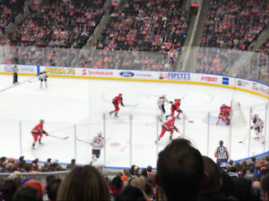 Edmonton Oilers Lower Bowl 4 Seats Together - All Games