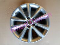 "X1 Vauxhall Astra J Zafira C GM 18"" Genuine Alloy Wheel Rim 13412676 SS Or HL 4721"