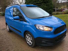STUNNING FORD COURIER 1.6TDCI (95PS) 2015/15 NO VAT 6,000MILES TREND AIRCON