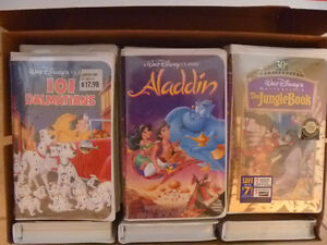 Disney Moviie Collection - 25 Never opened VHS version