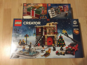 Lego Winter Village Fire Station, Diagon Alley - sealed NEW