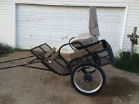Two wheeled cart