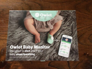 Owlet baby heart rate/oxygen monitor