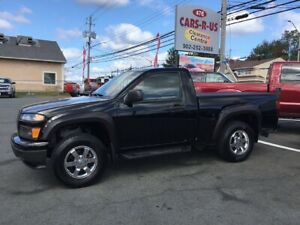 2011 Chevrolet Colorado 1LT 4WD 4-Speed Automatic