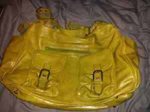 Amy michelle leather diaper bag