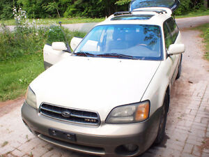 2002 Subaru Outback LL Bean H6-3.0 AS IS or PARTS Peterborough Peterborough Area image 1