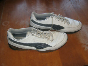 Men's Puma leather shoes