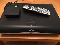 Sky+ HD box with on demand box & remote