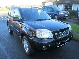 2003 NISSAN X-TRAIL 2.2 DCi BLACK BREAKING FOR PARTS YD22