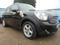 2012 12 MINI COUNTRYMAN 1.6 COOPER 5DR 122 BHP FINANCE WITH NO DEPOSIT AND NOTHI