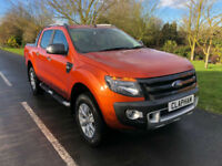 2015 64 FORD RANGER WILDTRAK 3.2 TDCI 200BHP 4X4 AUTO 36,000 MILES UK DELIVERY