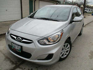 2014 Hyundai Accent ,SAFETIED , LOW KM