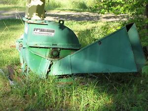ROBERGE 6 INCH WOOD CHIPPER, PTO DRIVEN