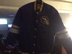 Brand New Minnesota Vikings Licensed Jacket Stored since 1990