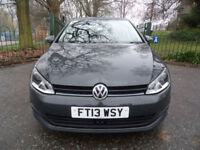 Volkswagen Golf 1.6TDI ( 105ps ) ( s/s ) b/tooth=cruise=0 road Tax