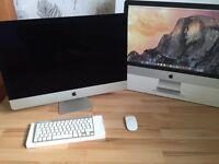 Apple IMac 27inch 5k late 2014 top spec Intel i7 , R9 m295x ,3tb fusion drive