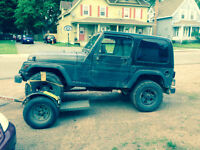 Parts of sale 1998 Jeep TJ Convertible