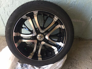 Rims for Sale on tires 255 45 R20