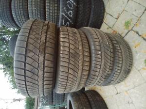 4 pneu hiver 255/50/R19 michelin latitude HP 107V bon pour 2 hiv