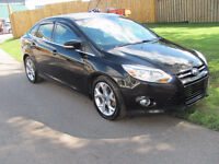 2012 Ford Focus SEL Limited,Sedan..... Loaded with leather...!