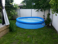 Piscine gonflable 12 pieds